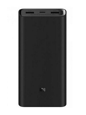 Внешний аккумулятор Xiaomi Mi Power Bank 3 Super Flash Charge 20000 (Black)